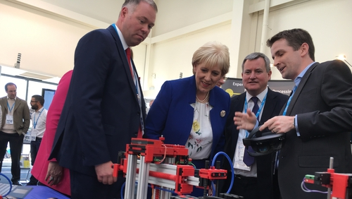 Business and Enterprise minister Heather Humphreys said the centre will transform manufacturing here