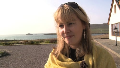 Emma Mhic Mhathúna is one of the three women seeking the documents