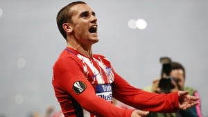 Antoine Griezmann was magnificent for the now three-time winners of the Europa League