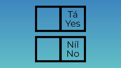 The referendum takes place on Friday 26 October