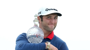 Rahm claimed the lowest winning score in the Irish Open's 92-year history in 2017