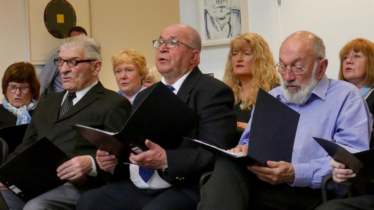 MISA choir a welcome tonic for patients