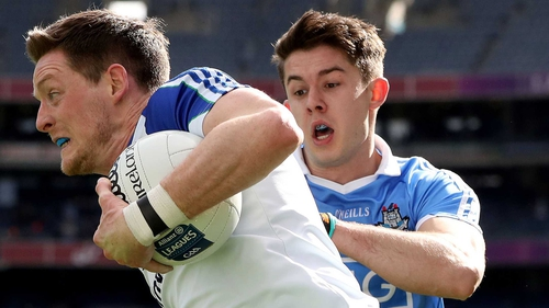 Conor McManus in action against Dublin
