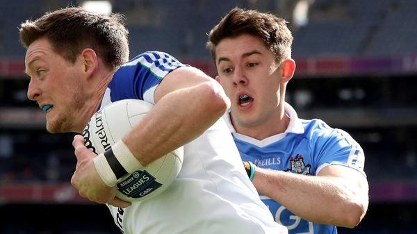 Conor McManus in action against Dublin