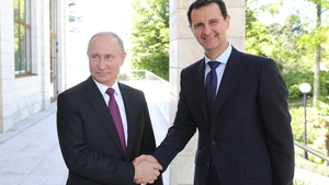 The Kremlin said there were 'detailed discussions' between Vladimir Putin and Bashar al-Assad