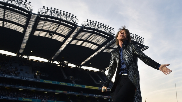 Moves like Jagger, sings like Jagger, looks like Jagger . . . it's Jagger. Getty Pictures