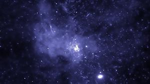 The black hole bounty at the centre of the Milky Way. Image:  NASA/CXC/SAO