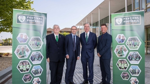 The Football Association of Ireland were launching their Festival of Football which takes place in Cork this year