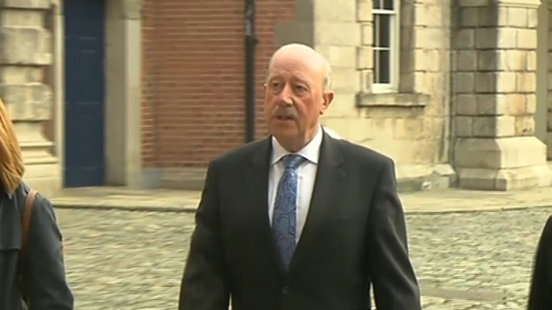 Martin Callinan was asked about a RTÉ News story from 24 February 2014