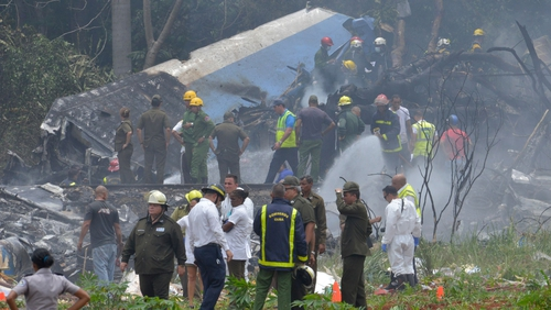 The Boeing 737 crashed shortly after take-off