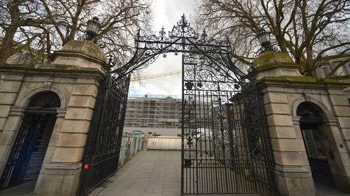 Leinster House is undergoing multi-million euro renovation works