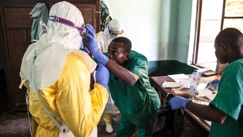 The number of suspected, probable and confirmed Ebola cases has risen to 45, with 25 people dead(Photo:UNICEF)
