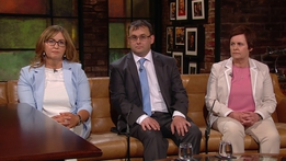 Tracey Corbett Lynch and Marilyn and Wayne Corbett | The Late Late Show