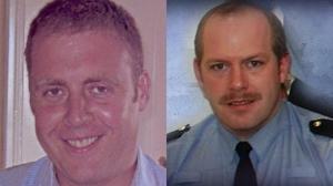 Detective Garda Adrian Donohoe and Garda Tony Golden