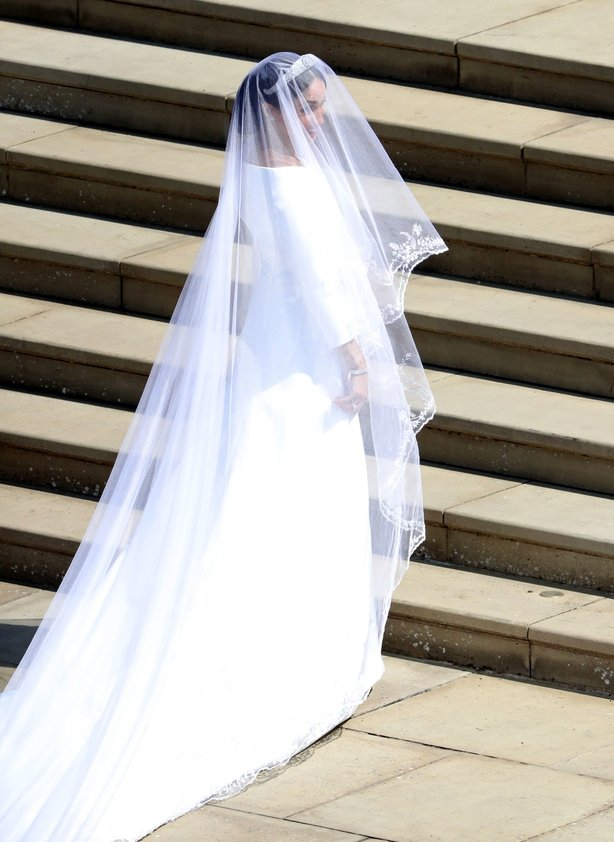 The dress - designed by Givenchy