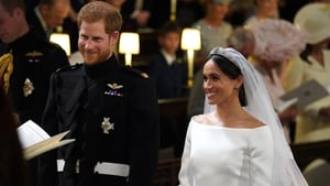 Prince Harry and Meghan Markle married in Winsdor today