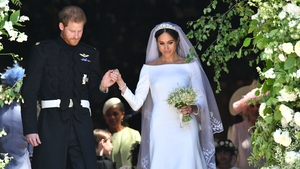 Meghan Markle and Britain's Prince Harry married under two years ago