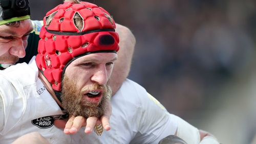 James Haskell missed Wasps' loss to Saracens