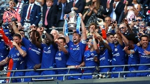 Chelsea lift the FA Cup