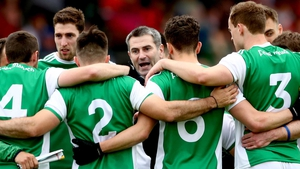 Rory Gallagher addresses his Fermanagh side