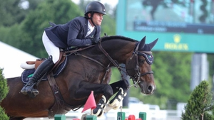 Darragh Kenny and Balou Du Reventon Pic: Barre Dukes/Phelps Media Group