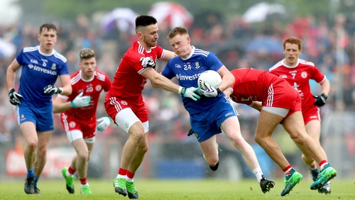 Monaghan recorded an excellent win over Tyrone in the quarter-final