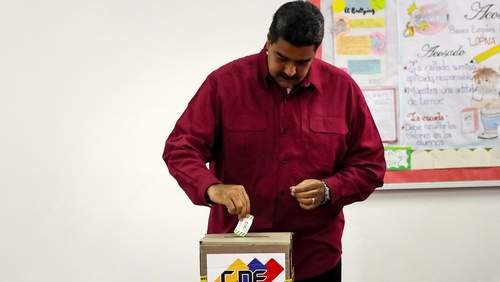Maduro wins second term amid vote rigging claims