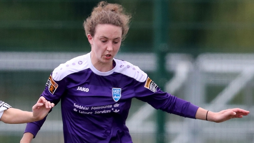 Heather Payne's goal was enough to give Peamount victory