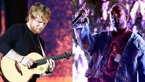 Ed Sheeran and Kendrick Lamar - The big winners on the night
