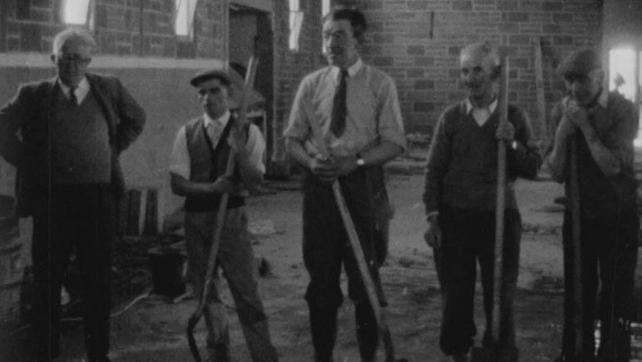 Men at Work on Crumlin Boys Club (1963)