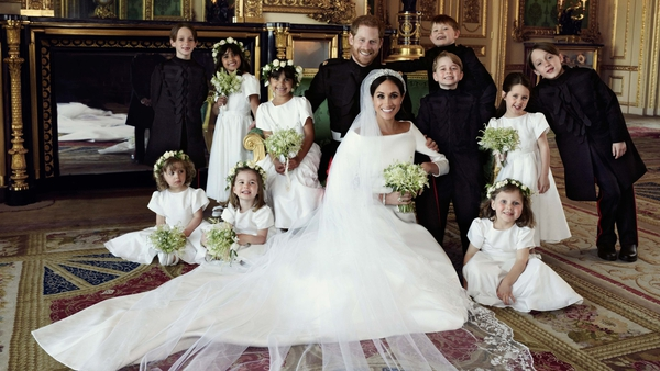 Prince Harry and Meghan Markle release official wedding photos