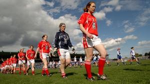Rena Buckley leading the Cork footballers