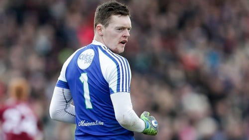 Rory Beggan struck four points from placed balls in Monaghan's win over Tyrone in Omagh yesterday