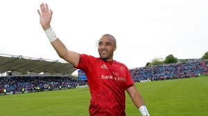 "Simon Zebo: """"I'm going to do my best to get picked for Racing and also get picked for that World Cup in 2019 - and if not, 2023."""