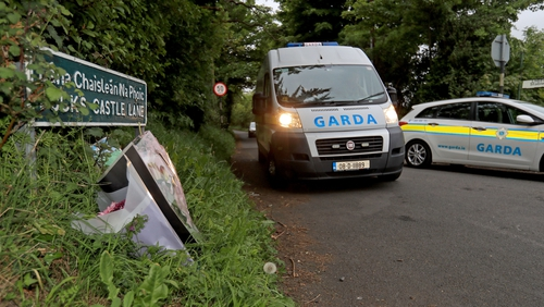 The search for evidence continues in the Rathmichael area