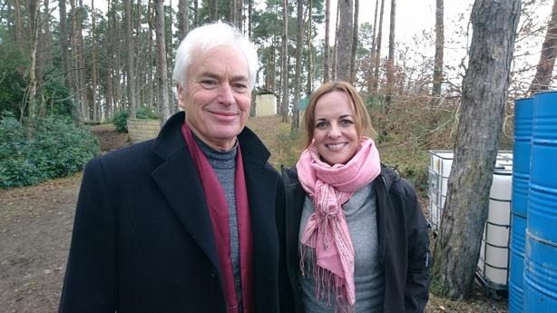 Professor Ian Robertson neuroscientist at Trinity College Dublin and Jennifer O'Connell