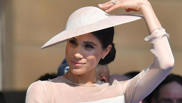 Markle wore an Irish designer for her first outing as a Duchess.