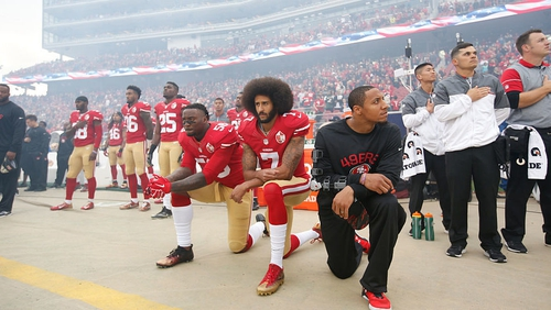 Brandon Marshall says President Trump's anthem comments were 'disgusting'
