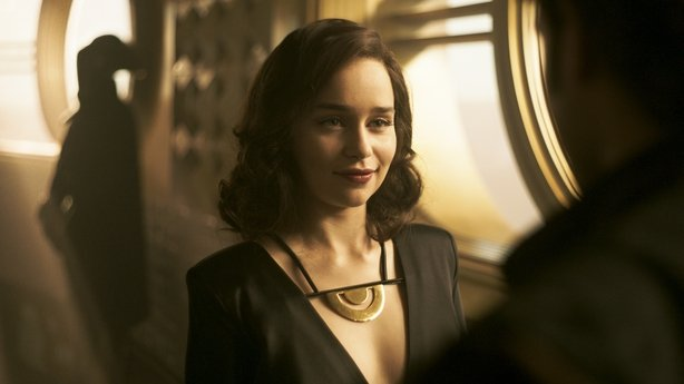 Game of Thrones star Emilia Clarke as Qi-Ra in Solo: A Star Wars Story