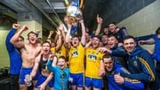 Roscommon celebrate with the Nestor Cup last July