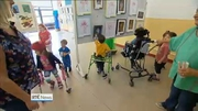 Six One News (Web): Children at Central Remedial Clinic hosting some of their finest artwork