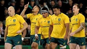 Israel Folau (2l) has 62 Australia caps
