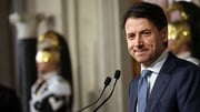 Giuseppe Conte is backed by the 5-Star Movement and the far-right League