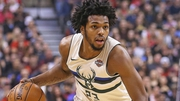 Sterling Brown plays for the Milwaukee Bucks in the NBA