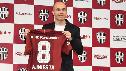 a65c734ca Andres Iniesta has joined J.League outfit Vissel Kobe