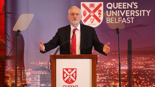 Jeremy Corbyn believes Irish reunification 'has majority support'