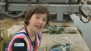 Six One News (Web): 11-year-old Dublin girl behind new initiative to combat marine litter