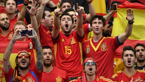 79af7de5b Spain face Portugal, Iran and Morocco in the group