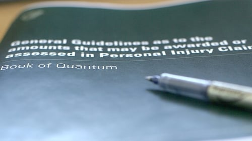 The Book of Quantum acts as a guide to the amounts that may be awarded for personal injury claims