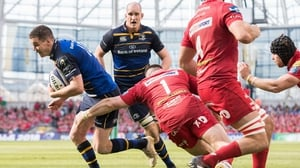 Johnny Sexton was among the tries when Leinster beat Scarlets in the Champions Cup
